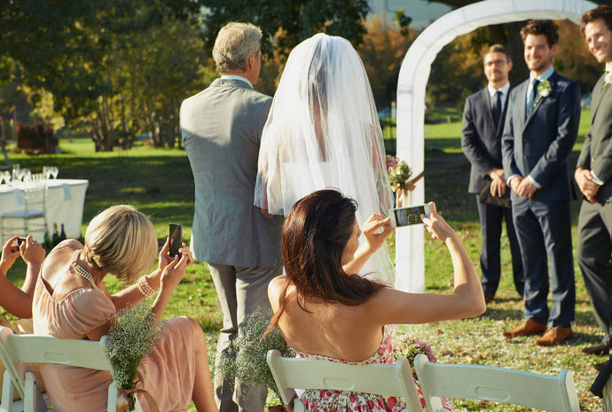 The Modern Day Dilemma: Smartphones at Weddings