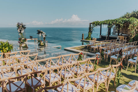 clifftop wedding venue bali