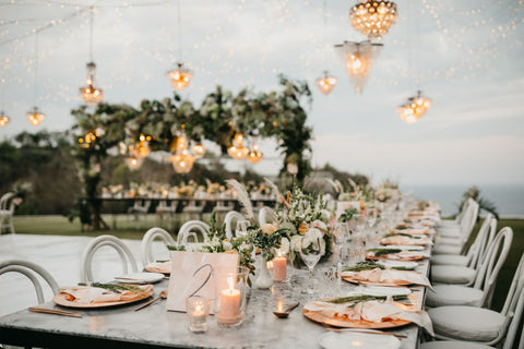 bali cliff top villa wedding