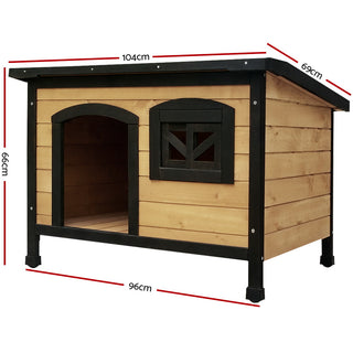 Large Pet Dog Kennel - Black - Retail Discount Store