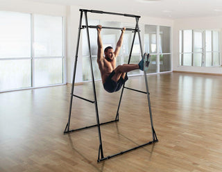 Pull-Up Bar Free Standing Pull Up Stand Sturdy Frame Indoor Pull Ups Machine - Retail Discount Store