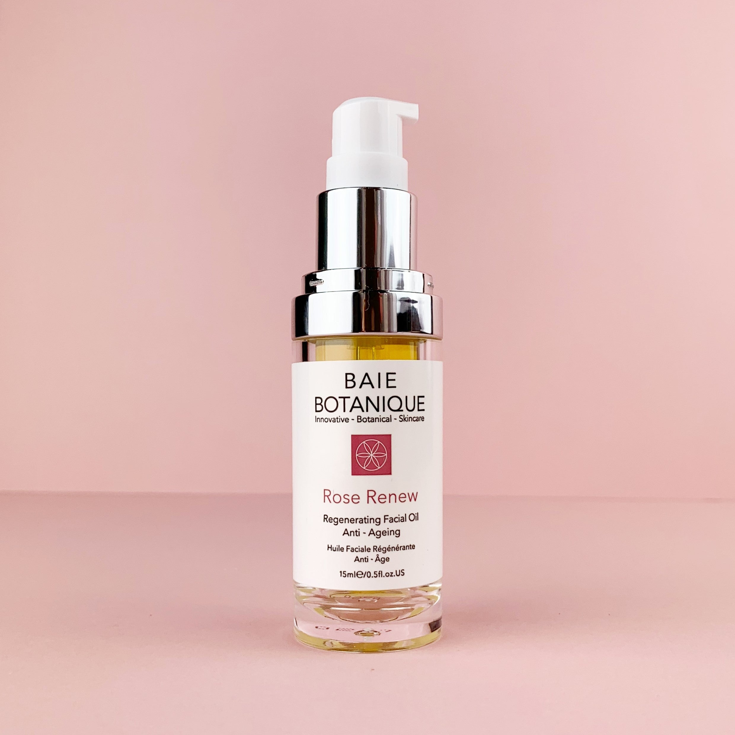 Rose Quartz Gua Sha + Rose Renew Facial Oil GIFT BUNDLE