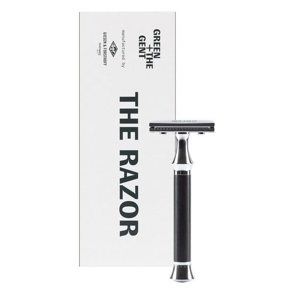 Green + The Gent Razor