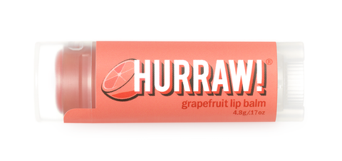 HURRAW Grapefruit Lip Balm / Lippenpflege Stift Grapefruit