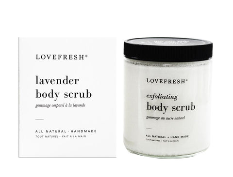 Lovefresh LAVENDER Body Scrub