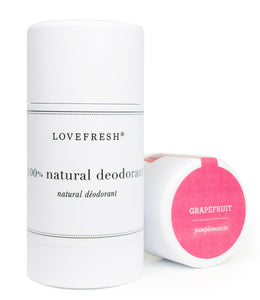 Lovefresh  GRAPEFRUIT Deodorant