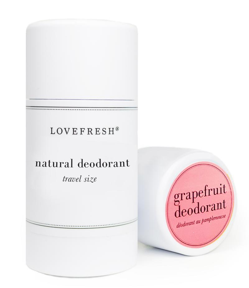 LOVEFRESH Mini Deodorant Stick Grapefruit
