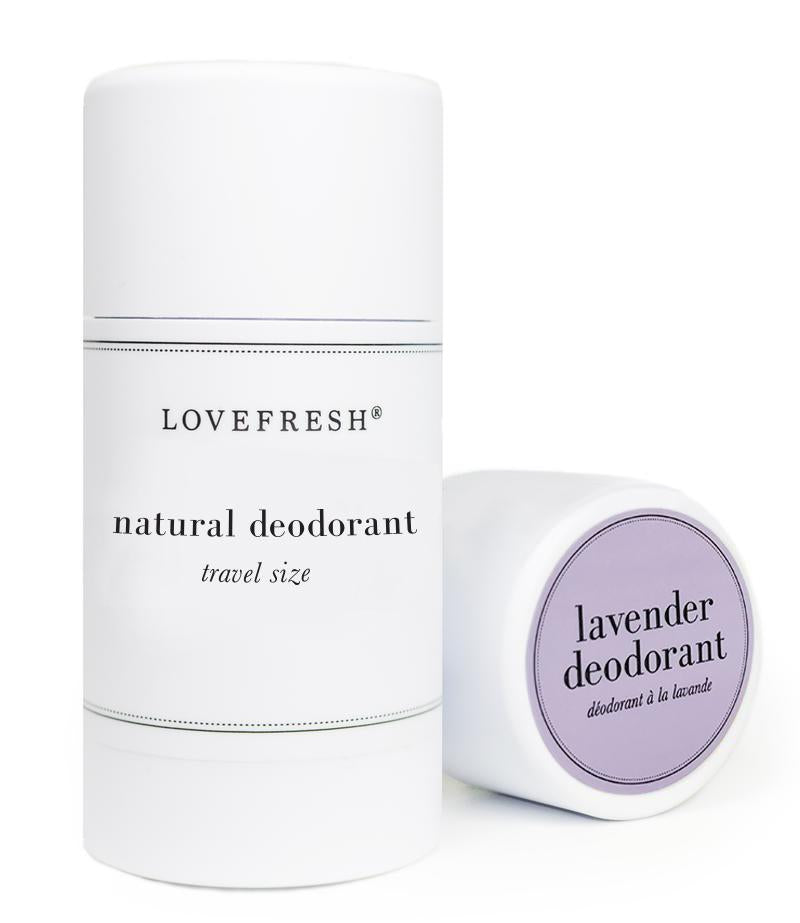 LOVEFRESH Mini Deodorant Stick Lavender