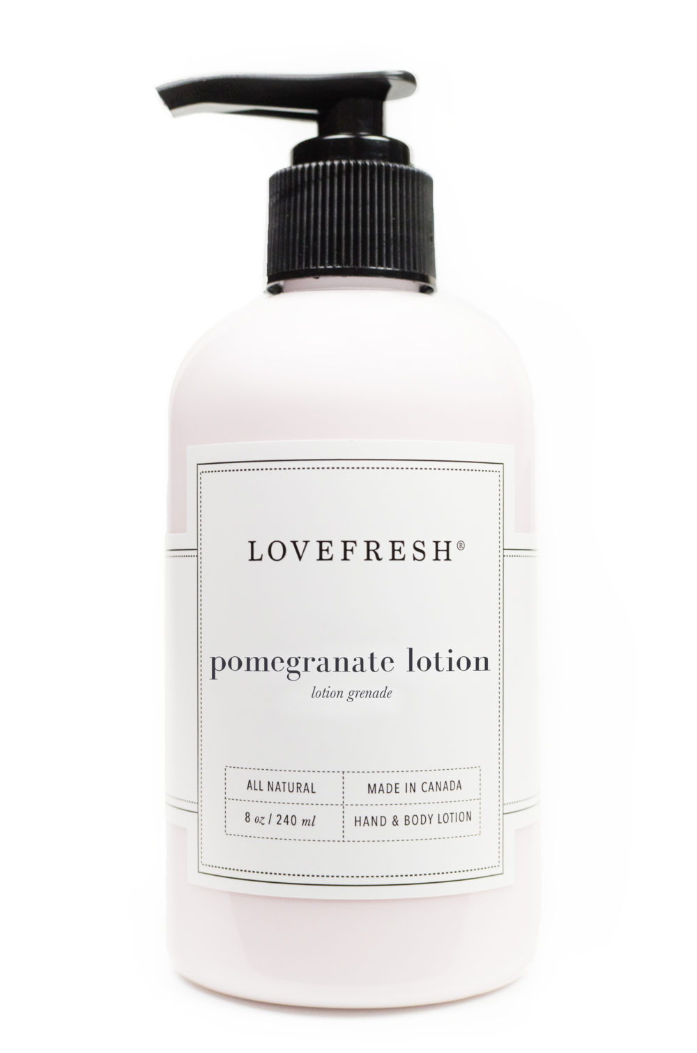 LOVEFRESH Pomegranate Hand & Body Lotion