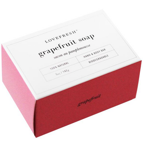 LOVEFRESH Grapefruit Soap / Pampelmusen Seife