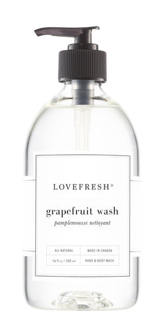 LOVEFRESH Grapefruit Hand & Body Wash