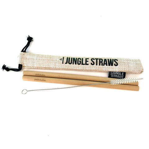 Philokalist Bamboo Straw Set