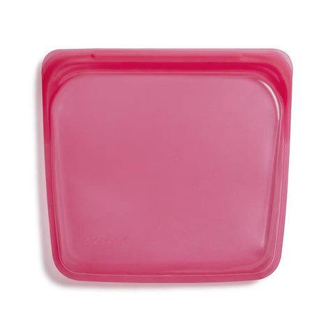 Stasher PINK Sandwich Bag