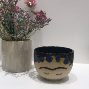 VB Ceramics x Philokalist. FRIDA BLUE Cup
