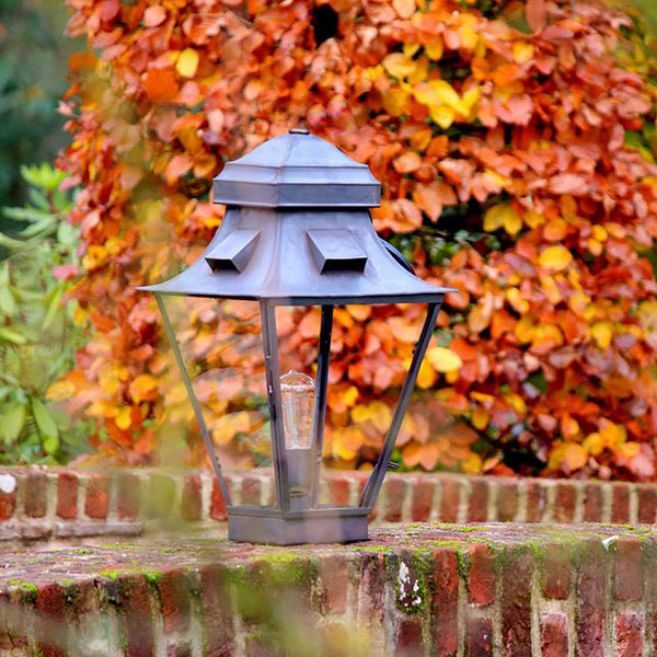 Your outdoor fixtures will look even more beautiful as they age