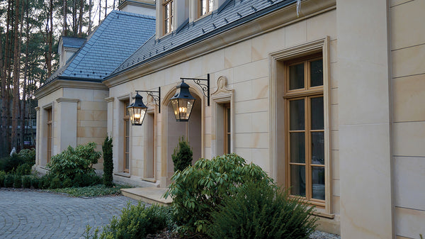 Express yourself: outdoor lighting with an authentic character