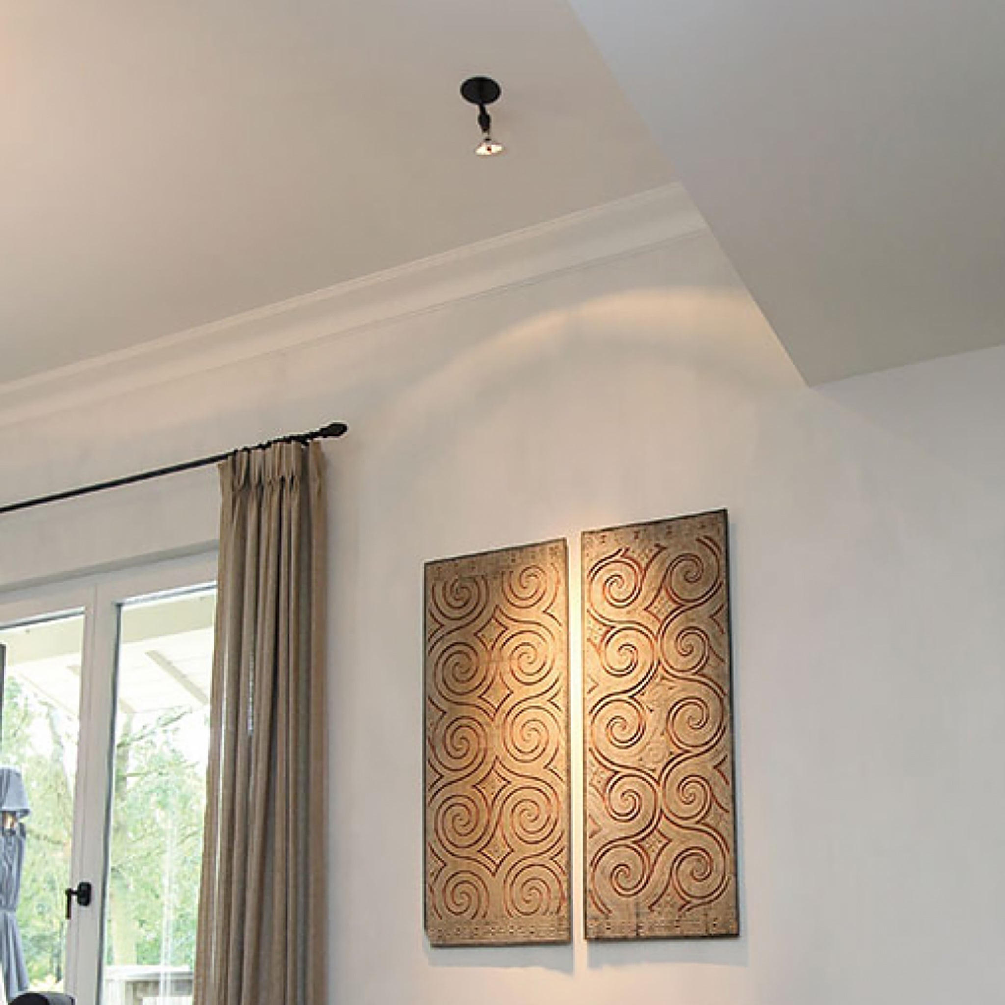 Authentage - spot - ceiling light - bronze - indoor light