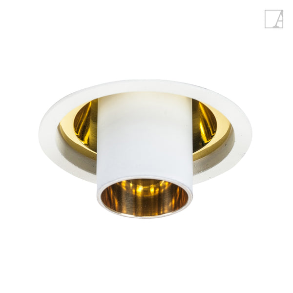 Aureole long tube gold reflector
