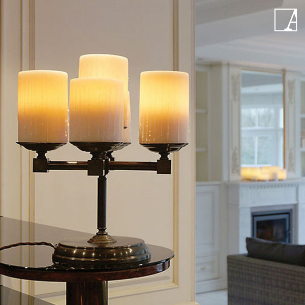 Bellefeu chandelier table - Authentage