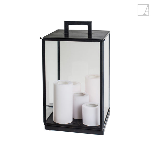 Bellefeu vitrine lantern outdoor floor - Authentage