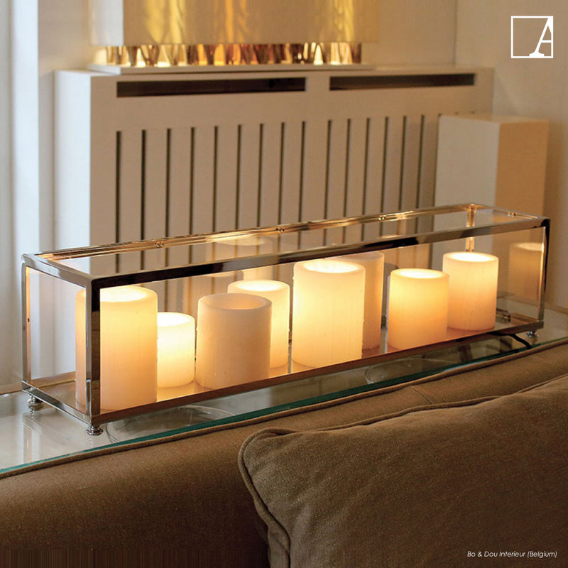 Bellefeu vitrine long table - Authentage