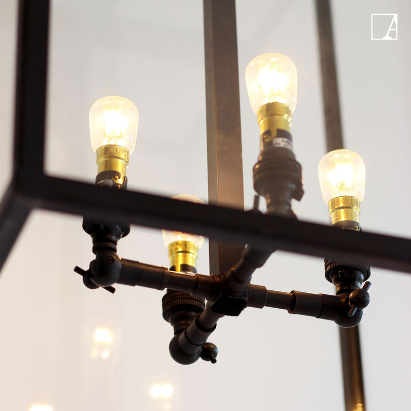 Vitrine petite lantern suspension - Authentage