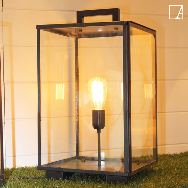 Vitrine table lantern outdoor - Authentage