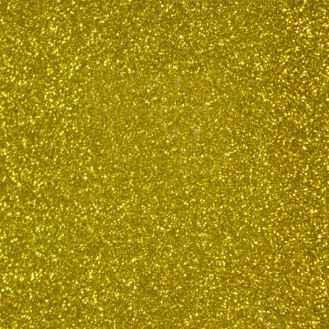 GLT-033 Yellow Glitter HTV