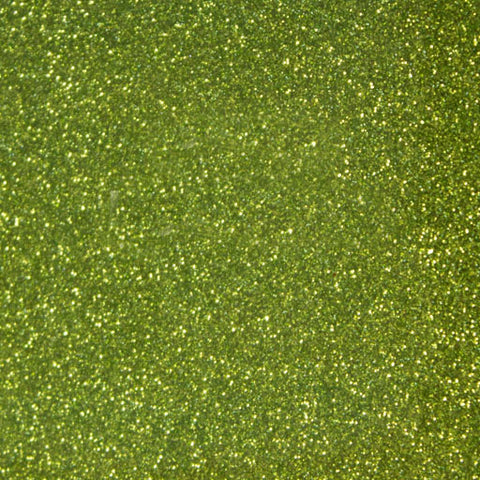 GLT-035 Yellow Green Glitter HTV