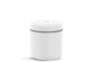 Fellow Atmos Vacuum Sealed Canister | Matte White