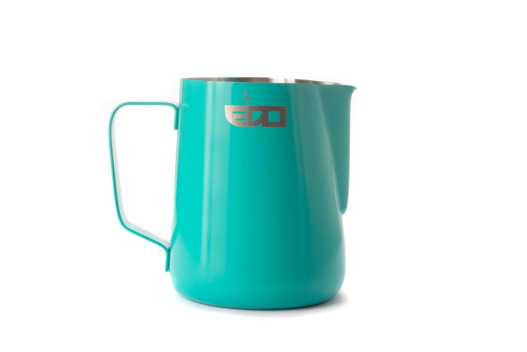 Blue 600ml/20oz Milk Pitcher Jug | EDO Barista