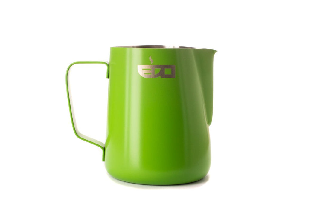 Green 600ml/20oz Milk Pitcher Jug | EDO Barista