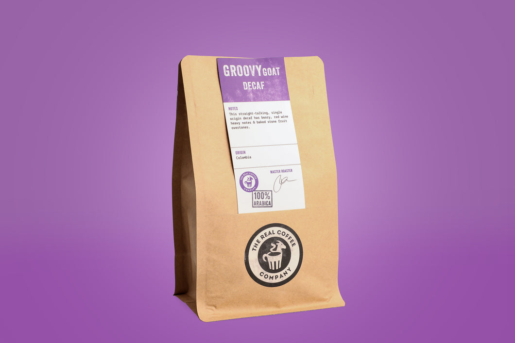 Groovy Goat Decaf Whole Beans