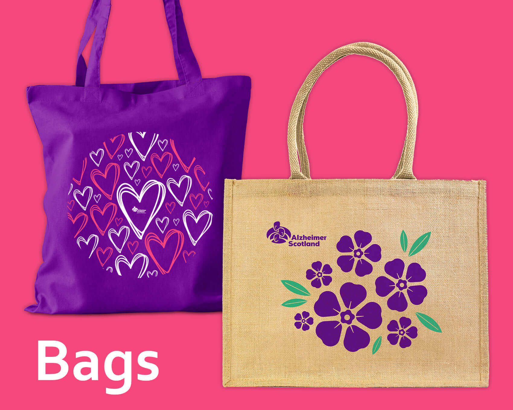 Alzheimer Scotland Bag Range
