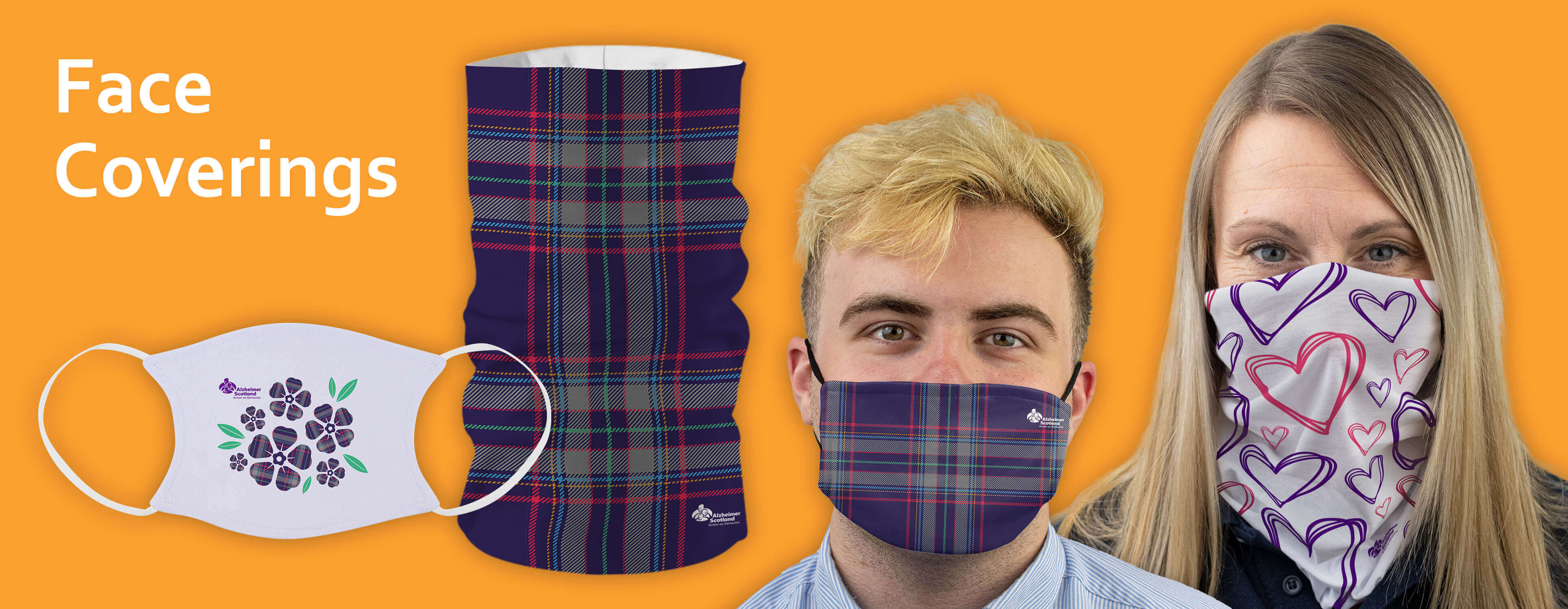 Alzheimer Scotland Face Coverings