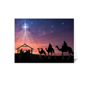 Alzheimer Scotland 3 Wise Men Christmas Card
