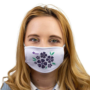floral face mask alzheimer scotland