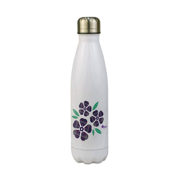 floral 500ml stainless steel water bottle alzheimer scotland