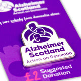 Alzheimer Scotland Logo Pin Badge