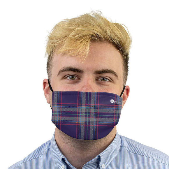 tartan face mask alzheimer scotland