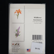 Load image into Gallery viewer, Wildflower Assortment Note Cards