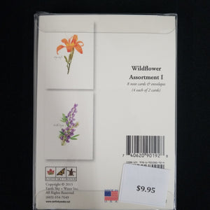 Wildflower Assortment Note Cards