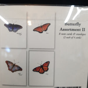 Butterfly Assortment II Note Cards