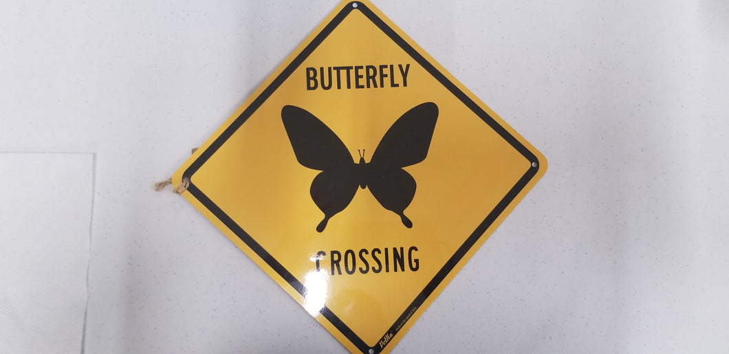 Butterfly Crossing Yellow