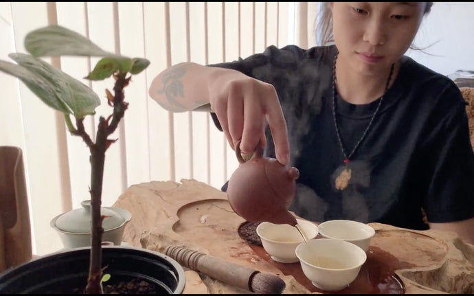 Preparing Tea: the Chaozhou Gongfu cha way