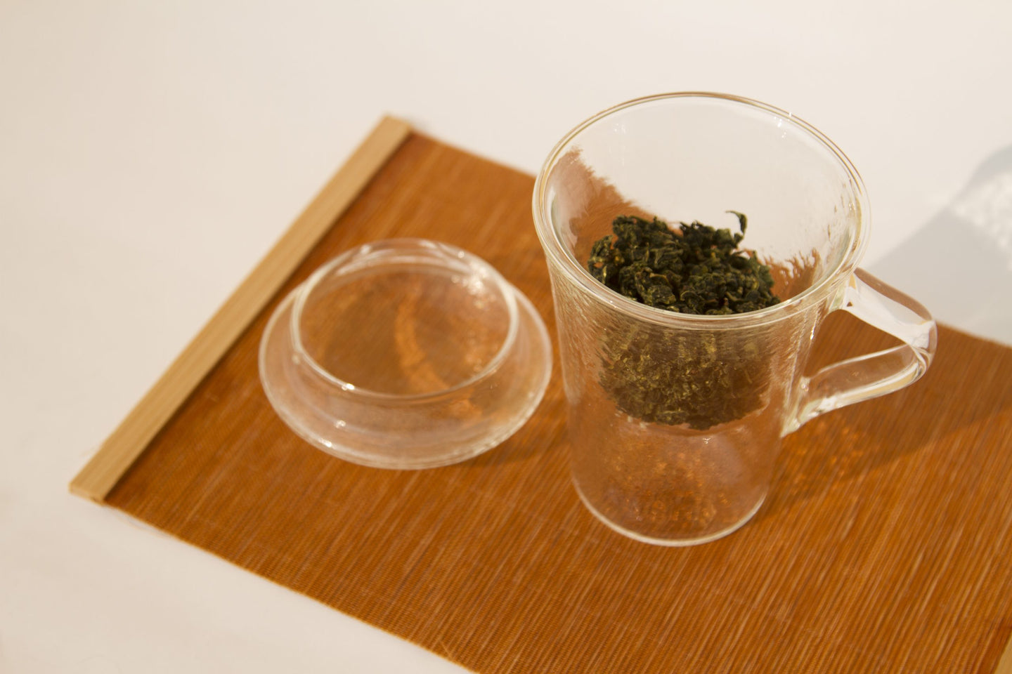 Glass Tea Mug with Infuser 玻璃同心杯