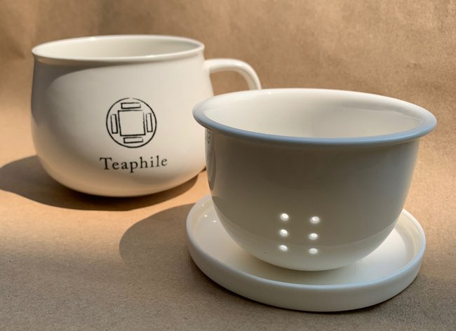 Porcelain Teaphile Mug with Infuser 陶瓷同心杯