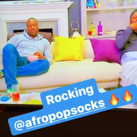 SPOTTED: 5 Male celeb's Rocking Afropop Socks