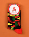 KIDS Zion Red Socks