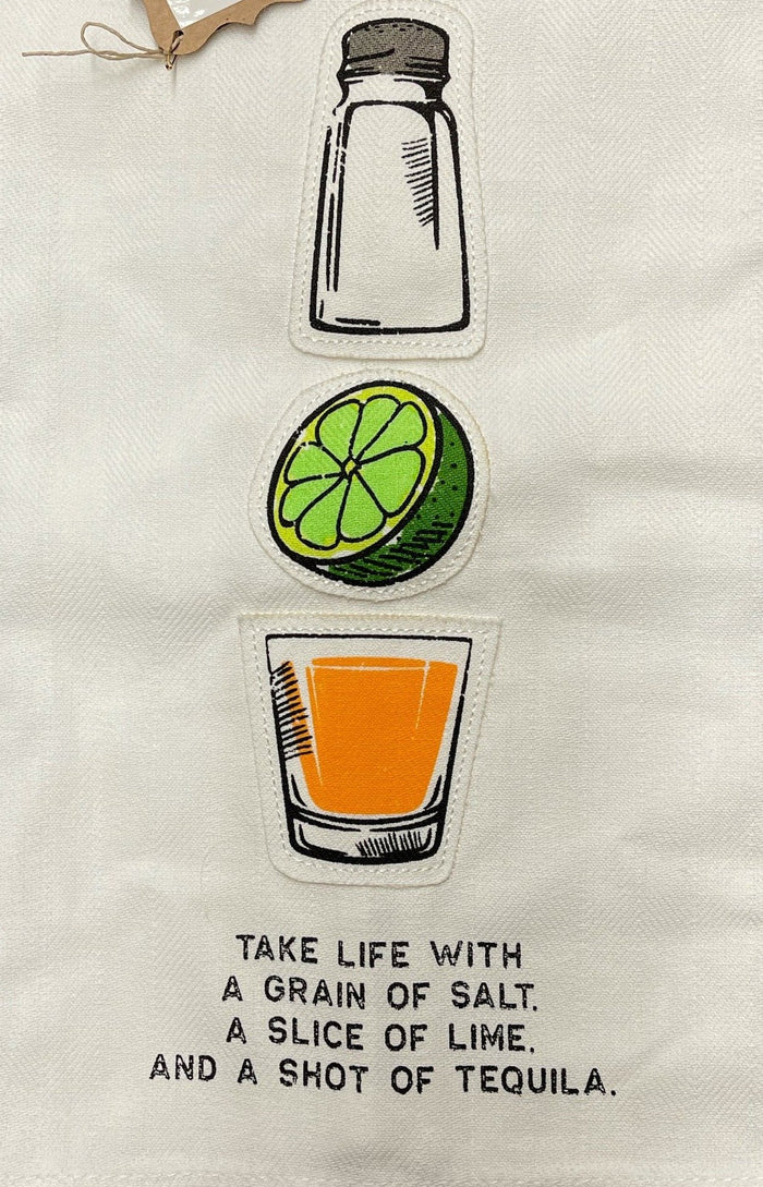 Tequila Tea Towel